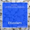 Etizolam-Pellets